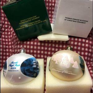 Thomas Kinkade ornaments